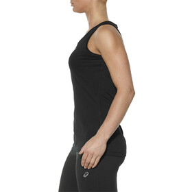 asics Tank - Camiseta sin mangas running Mujer - negro